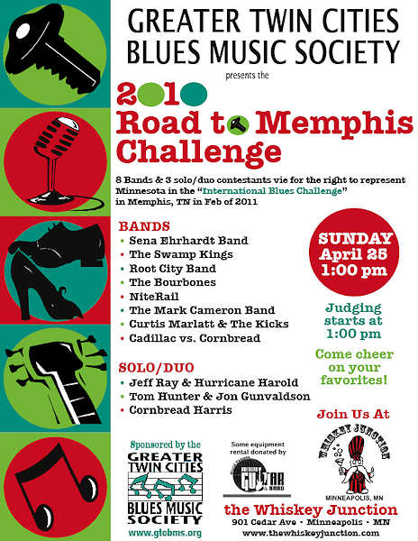 Road To Memphis 2010 Poster