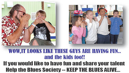 Blues For Kids Recruiting Handout